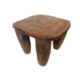Old Senufo Low Milk Stool