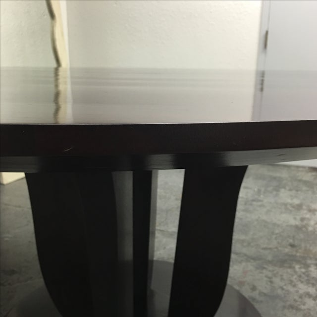 Barbara Barry Round Fluted Dining Table - Image 7 of 9