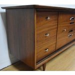 Image of Kent Coffey Mid-Century Walnut Dresser
