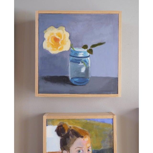 "Original Painting ""Yellow Rose"" - Image 5 of 7"