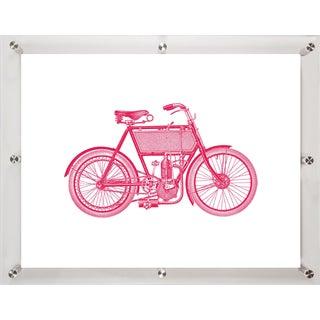Mitchell Black Home Motorbike Art Installation
