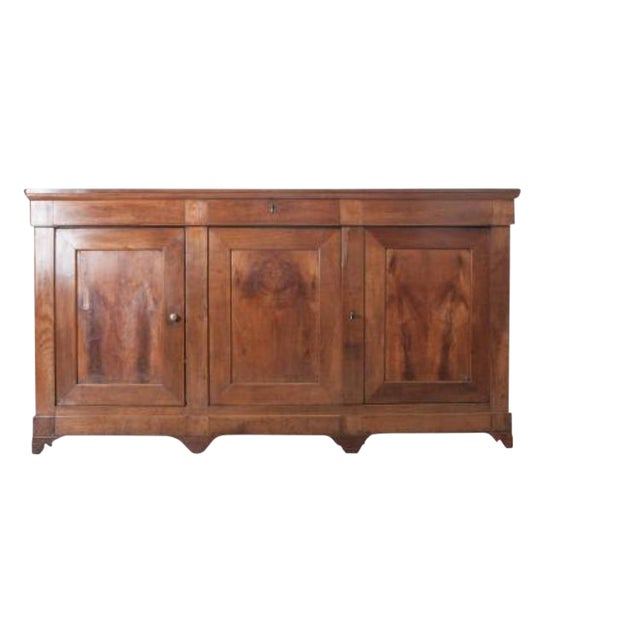 French Late 19th Century Walnut Louis Philippe Enfilade - Image 1 of 10