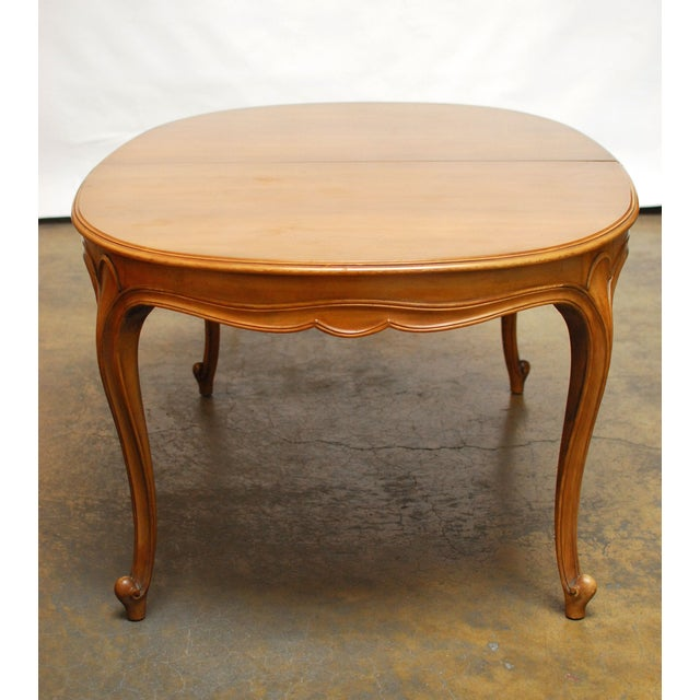Drexel Vintage French Provincial Dining Table - Image 6 of 6