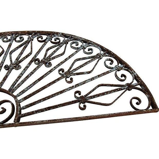 Mediterranean Architechtural Wrought Iron Arch - Image 4 of 6