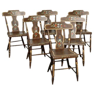 Painted Chairs - Set of 6