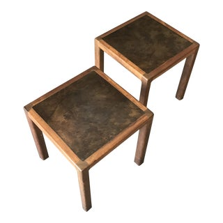 Harry Lunstead Side Tables - A Pair