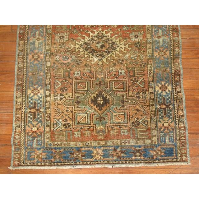 Antique Persian Heriz Rug - 3 x 4'5'' - Image 4 of 6