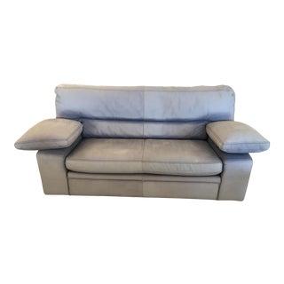 Vintage Roche-Bobois Leather Sofa