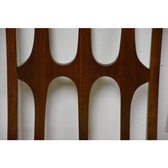 Broyhill Brasilia Walnut Dining Chairs - Set of 8 - Image 9 of 11