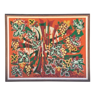 Colorful Jungle Inspired Needlepoint