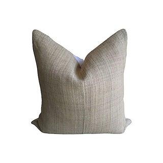 Vintage Hmong Hemp Pillow