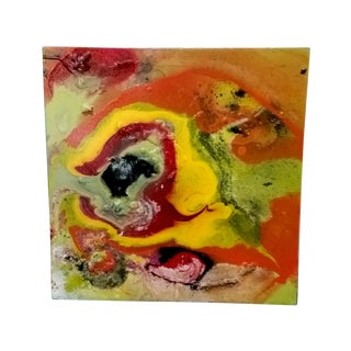 """""""Abstract Small Swirls 01"""" Painting"""