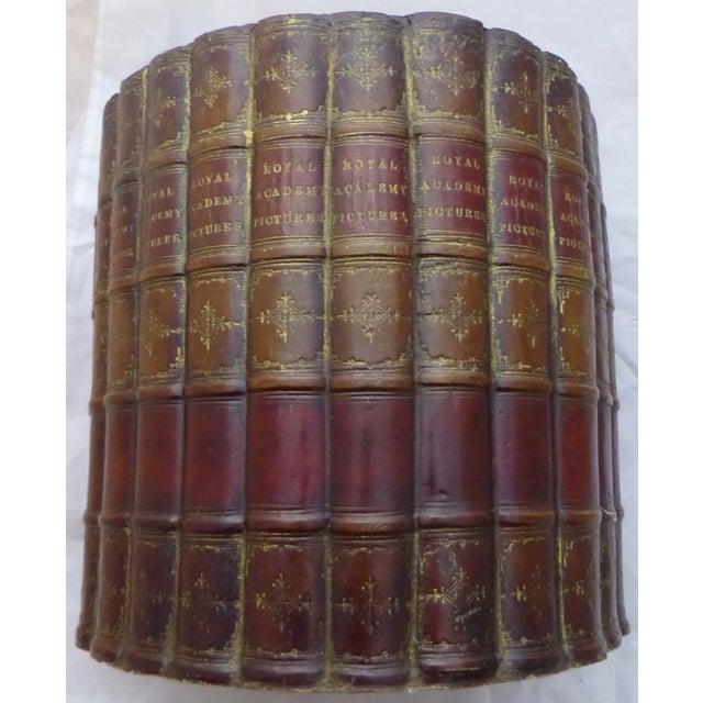 Original Bookworks Library Waste Basket Faux Book - Image 2 of 8