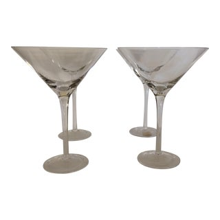 Fifth Avenue Crystal Martini Glasses - Set of 4