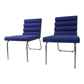 Gunilla Allard Lammhults Chicago Easy Lounge Chairs - a Pair