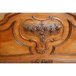 Image of Antique 1900 French Rococo Louis XV Style Bed
