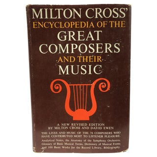 Vintage Encyclopedia of the Great Composers