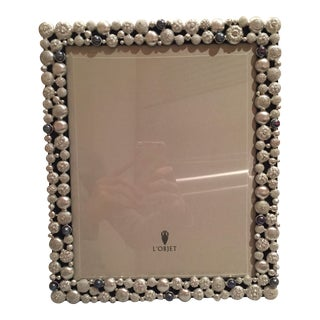 L'Objet Platinum Plated Sea Urchin Frame