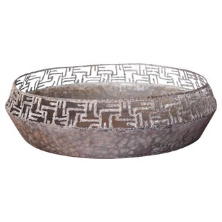 Large Bronze Bowl by Marcello Fantoni