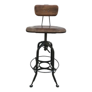 Restoration Hardware Toledo Adjustable Bar Stool