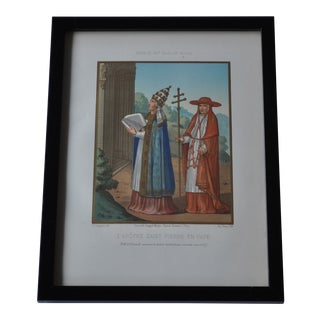 1858 French Chromolithograph Illustration