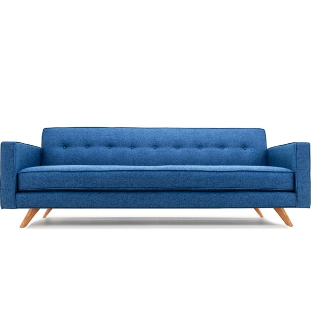 Clad Home Mid-Century Style Custom Tufted Sofa - Image 5 of 5