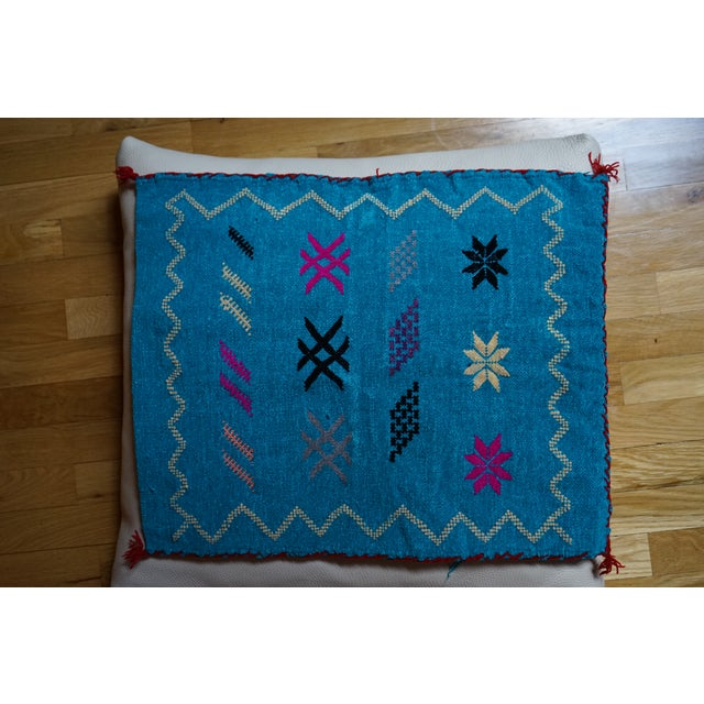 Moroccan Handmade Pillow - Image 2 of 5