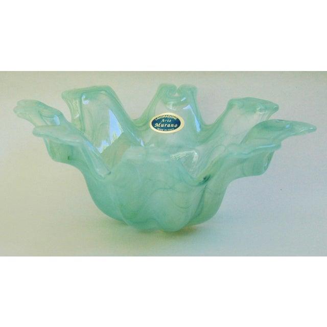 Image of Mid-Century Italian Lavorazione Murano Glass Dish
