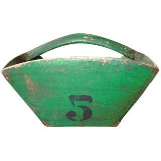 Vintage Green Grain Scoop
