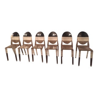 Kartell Ghost Dining Chairs - Set of 6