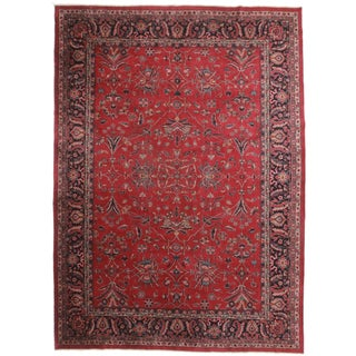 Hand-Knotted Turkish Sparta Rug- 9′9″ × 13′6″