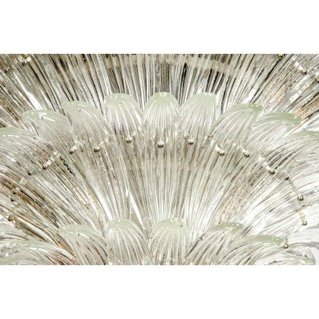 Exquisite Five-Tier Palma Murano Glass Chandelier - Image 4 of 9