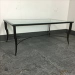 Image of Steel & Glass Coffee Table