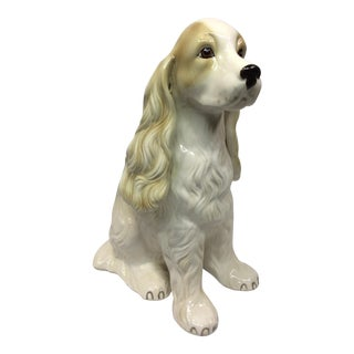 Cocker Spaniel Life-Sized Ceramic Statue