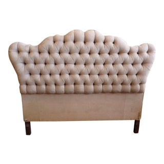 Vintage Tufted Full Size Hearboard