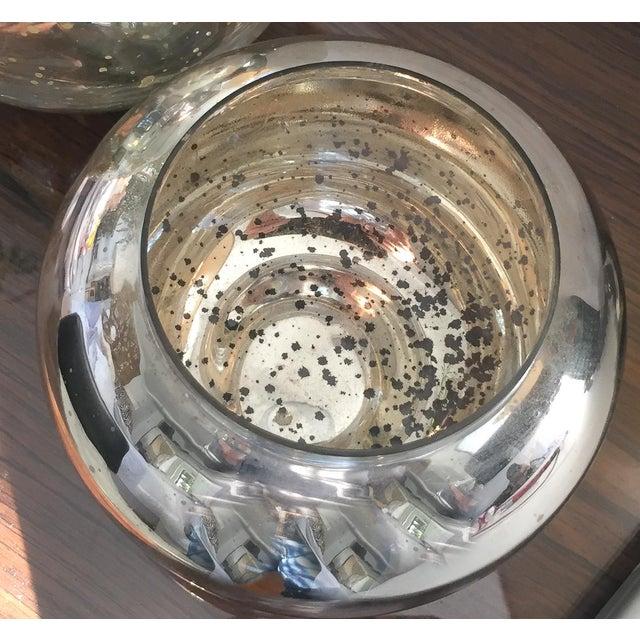 Mercury Style Glass Vases - Pair - Image 2 of 5