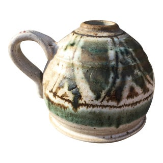 Speckled Salt Glaze Studio Pottery Jug
