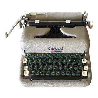 Vintage Consul Typewriter