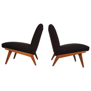 Jens Risom Slipper Lounge Chairs for H.G. Knoll Products