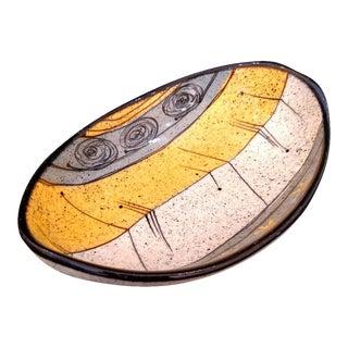 Vintage Ceramic Oval Dish