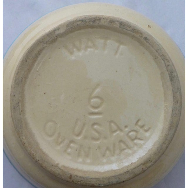 Antique Watt Nesting Mixing Bowls - Set of 5 - Image 6 of 9
