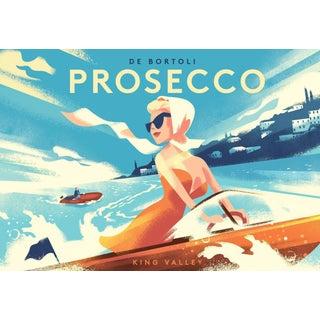 Contemporary Mads Berg Prosecco Poster