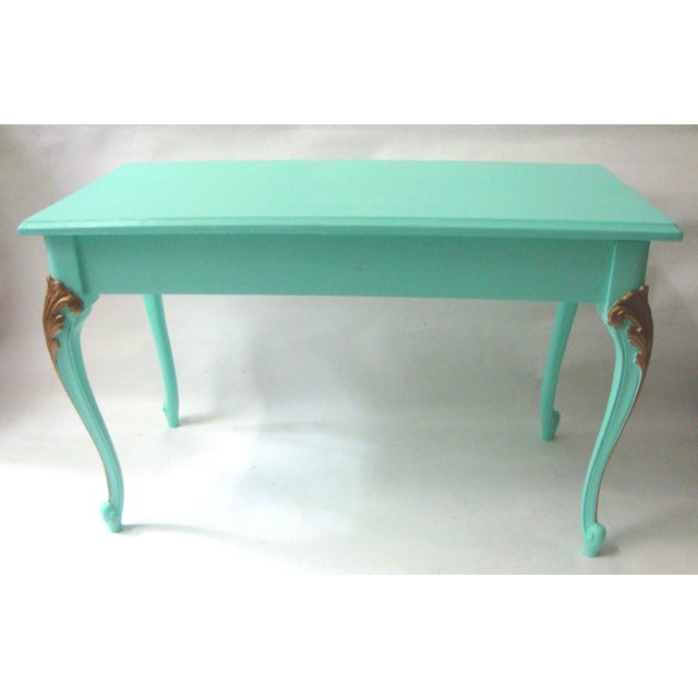 Image of Mid-Century Painted Piano Bench