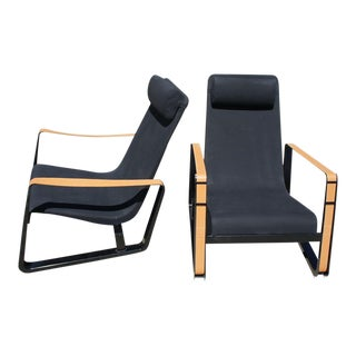 Jean Prouve Cite Lounge Chairs- A Pair