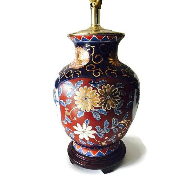 Ornate Vintage Ginger Jar Lamp - Image 3 of 6