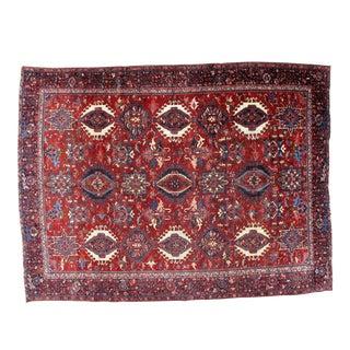 "Leon Banilivi Antique Karajeh Carpet - 8'10"" X 11'8"""