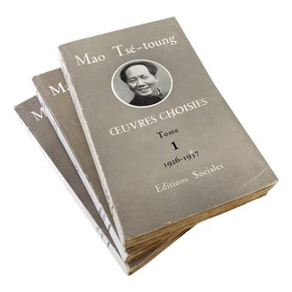 Mao Tse Tungh Collectible - 3 Volume Set
