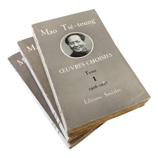 Mao Tse Tungh Collectible - 3 Volume Set - Image 1 of 10