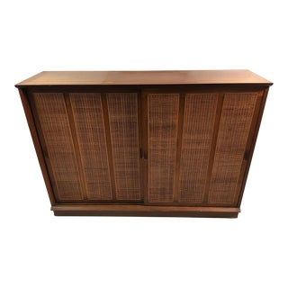 Mid-Century Modern Cane Sideboard