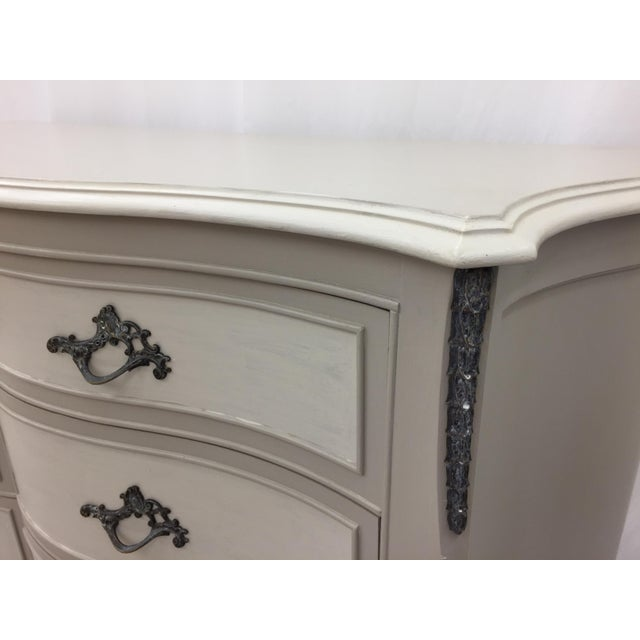 Vintage Hand Painted French Style Dresser - Image 11 of 11